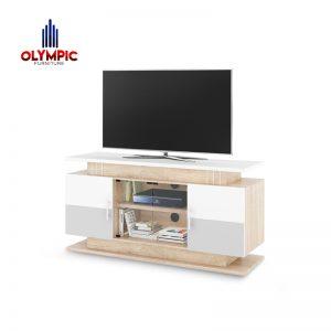 Bufet Lemari Rak TV Olympic Original Murah Seri Navaro