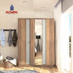 Lemari Olympic Original Murah Seri Calgary 3 Pintu