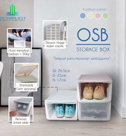 Grosir Box Penyimpanan Olymplast Multifungsi Asli Seri OSB