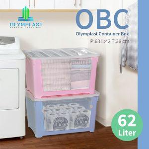 Grosir Box Plastik Olymplast Murah Multifungsi Seri OBC