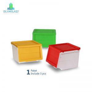 Grosir Box Serbaguna Olymplast Murah Seri OSS