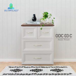 Grosir Drawer Plastik Olymplast Murah Seri ODC CB
