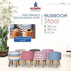 Grosir Kursi Olympic Minimalis Seri Mushroom Stool 07