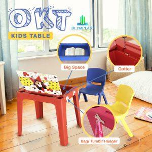 Grosir Meja Plastik Olymplast Multifungsi Anak Seri OKT
