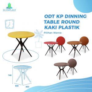 Grosir Meja Plastik Olymplast Original Seri ODTR KP