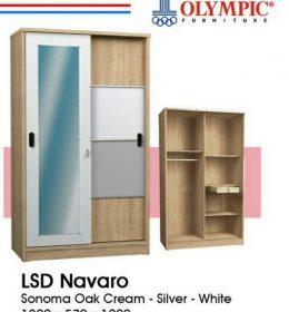 Lemari Sliding 2 Pintu LSD Navaro