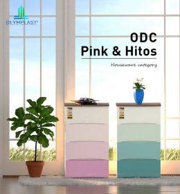 Olymplast Drawer Cabinet Modern Laci ODC 04 M Gradasi