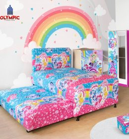 Twin Bed My Little Pony Olympic Tempat Tidur Anak Susun